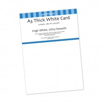 White Card 290gsm 15 Sht
