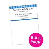 White Card 290gsm 100 sheets