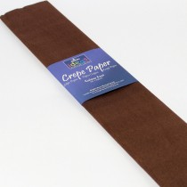 Brown Crepe Paper