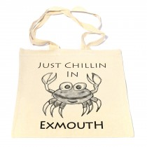 Crab Cotton Shopper Bag