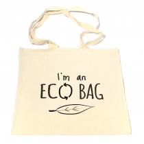 Eco Bag Leaf Tote Bag