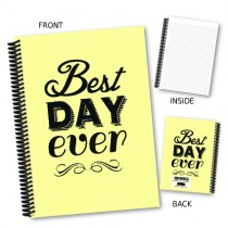 Best Day Ever' Coil Notebook