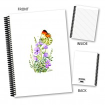 Butterfly & Flora Notebook