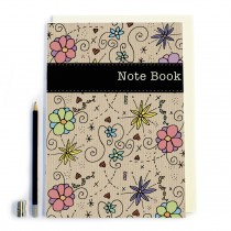Floral colours ' Note Book'