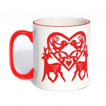Classic Mug Red Handle