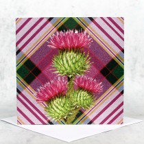 Tartan & Thistle Greeting Card