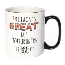 Britains Great Black Handled Mug