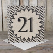 21st Eco Birthday Card