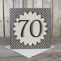 70th Eco Birthday Card