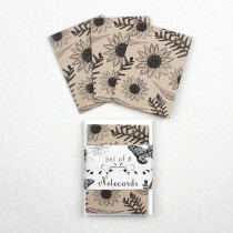 Eco Notecards Flowers & Ferns
