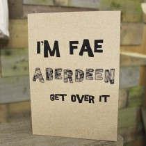 'Im Fae - Get Over It' A5 Eco Jotter