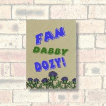 A6 Eco Notebook-Fan Dabby