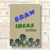 A5 Eco Notebook-Braw Ideas
