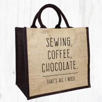 Sewing,Coffee Jute Bag