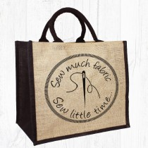 Sew Much Fabric, Jute Bag