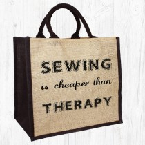 Sewing/Therapy Jute Bag