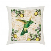 Cushion Cover-Hummingbird +Tag