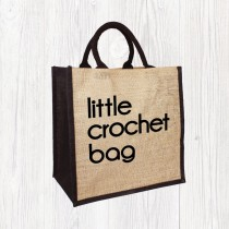 Little Crochet Jute Bag