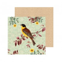 Watercolour Finch Greeting Card