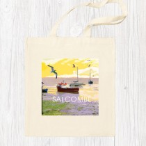 Coastal 3 Cotton Shopper+Tag