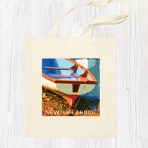 Coastal 4 Cotton Shopper+Tag