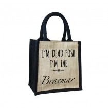 Dead Posh Cute Jute Bag+Tag