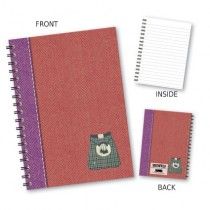 Kilt Red Wiro Notebook