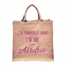 Common As Fae Natural Jute +Tag (Pink)