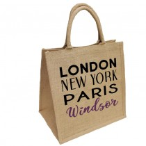 London NY Jute Shopper