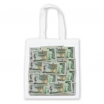 Money Stacked Bag £1
