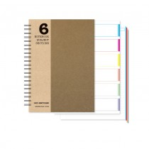 6 Subject Notebook