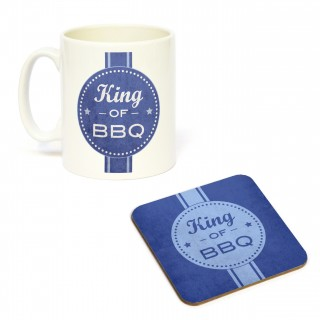Mug/Coaster Set King of BBQ product image