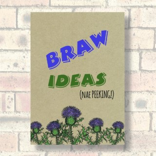 A5 Eco Notebook-Braw Ideas product image