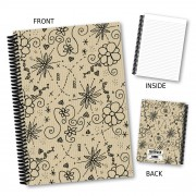 Floral Outline Notebook