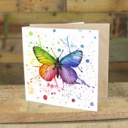 Textured Watercolour Greeting Card