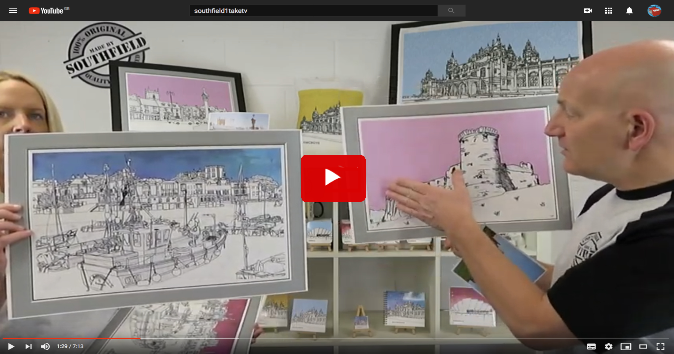 Sketch your town video link