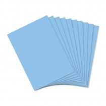 Inch Blue Card 10 Sheets