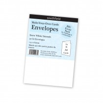 C6 White Envelopes 50s