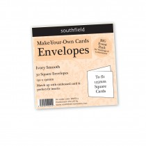 Small Sq Ivory Envelopes
