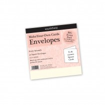 Square Ivory Envelopes