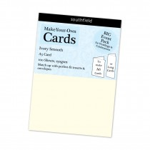 A5 Ivory Smooth Card 100s