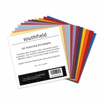 Coloured Envelopes Asstd 60s