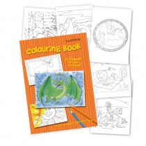 Dragon Colouring in Book