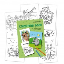 Animal Colouring in Book
