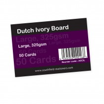 Dutch Ivory Cards Large