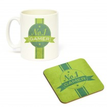 Mug/Coaster Set No. 1 Gamer