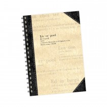 Parchment Wiro Notebook