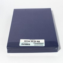 SV Royal Blue Rib 100 Sheets