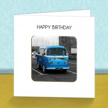Vintage Van Coaster Card