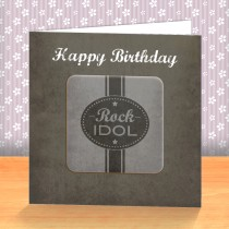 Rock Idol Coaster Card